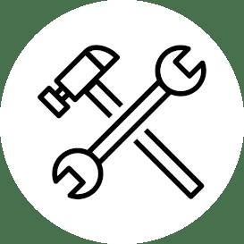 ikona serwisu i naprawy